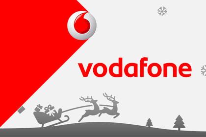 Vodafone Weihnachts