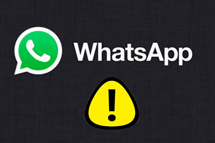 WhatsApp Warning