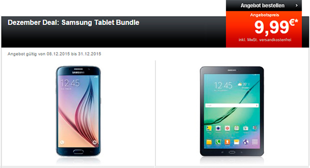 24mobile Dezember Deal Samsung Tablet Bundle