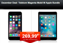 24mobile.de Dezember Deal: Telekom Magenta Mobil M Apple Bundle
