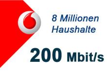 8 Millionen Haushalte mit 200 Mbit/s