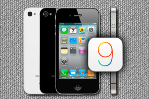 Apple iPhone 4s iOS 9