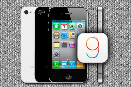 Apple iPhone 4s iOS 9