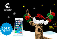 Congstar - iPhone Winterzauber 354,99 Euro
