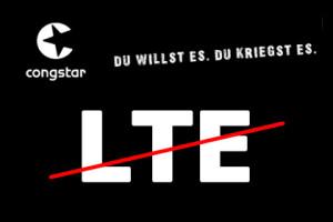 Congstar: Kein LTE