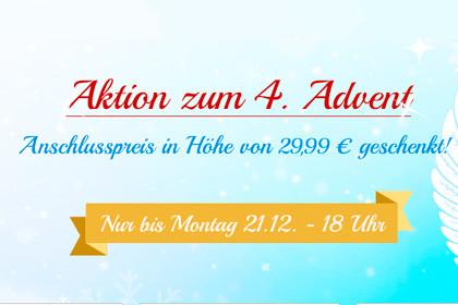 Deutschlandsim Aktion zum 4 Advent