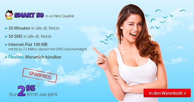 Deutschlandsim Smart 50 Sparpreis