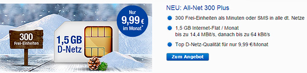 gmx.de All-Net 300 Plus
