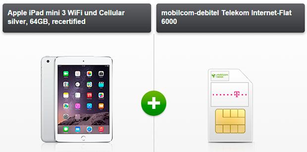 iPad Mini 3 Telekom Internet-Flat 6000