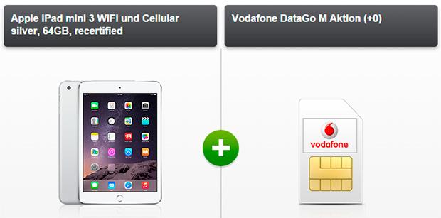 iPad Mini 3 + Vodafone DataGo M