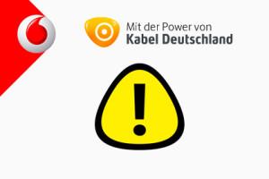 Kabeldeutschland Warning