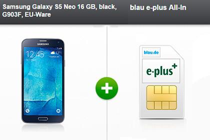 modeo - Samsung Galaxy S5 Neo 16 Gb Blau E-plus All-in