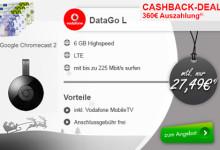 modeo Vodafone Cashback Deal DataGo L und Chromecast 2