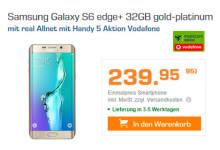 Saturn - Vodafone Allnet-Flat und Samsung Galaxy S6 Edge