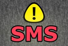 sms warning
