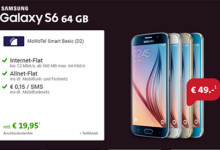 Sparhandy Samsung Galaxy S6 64 Gb