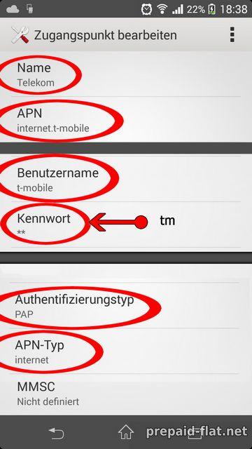 Telekom Apn Einstellungen So Richten Sie Mobiles Internet Ein