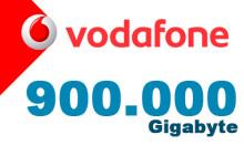 Vodafone 900.000 Gigabyte