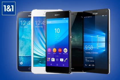 1&1 Smartphones