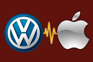 Apple und Folkswagen