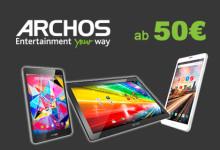 Archos Smartphones ab 50 Euro
