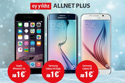 Ay Yildiz - Allnet Plus mit Samsung und Apple