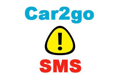 Car2go SMS