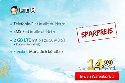 Deutschlandsim LTE M Winter Angebot
