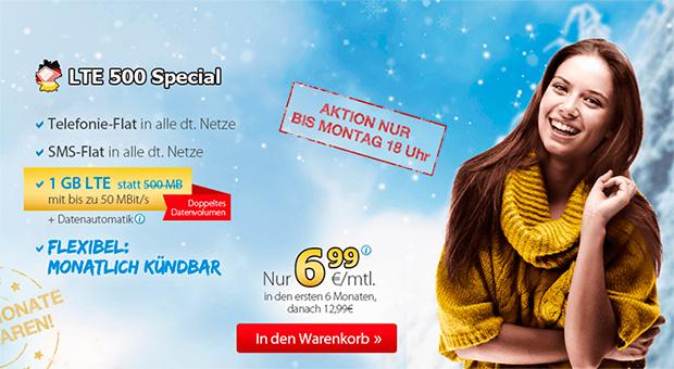 DeutschlandSIM Winterspecial Aktion