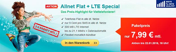 hellomobil LTE Special Aktion