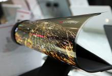 LG - biegsames Display