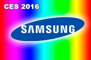 CES 2016 - Samsung