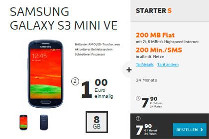 Simyo - Samsung Galaxy S3 + Starter S