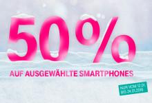 Telekom - 50 prozent Sparen