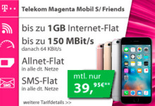 Telekom Magenta Mobil S mit Apple iPhone 6S Handy