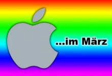 Apple im März