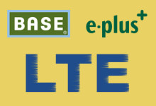 BASE, E-plus, LTE