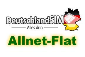 Allnet-Flat von DeutschlandSIM unter 8 EURO