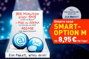 EDEKA mobil: Smartphone-Option Smart M mit besseren Leistungen