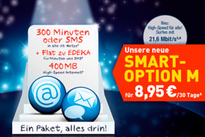 EDEKA mobil: Smartphone-Option Smart M