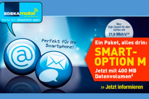 Edeka Mobil: Ab sofort bessere Konditionen bei Smart-Option M