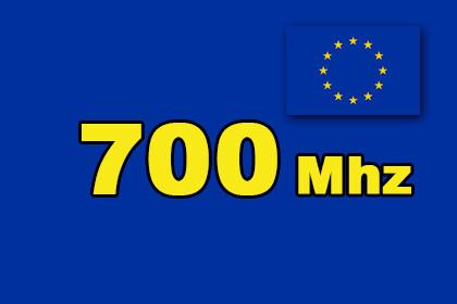 Europa 700 MHz