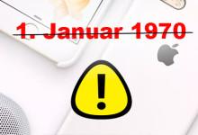 iPhone - 1 Januar 1970