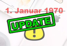 iPhone - 1 Januar 1970 - Update
