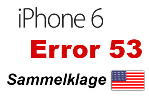 iPhone Error 53 Sammelklage