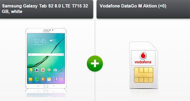 modo - Samsung Galaxy Tab S2 8.0 LTE +  Vodafone DataGo M Aktion