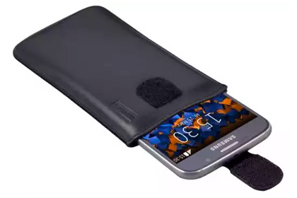 mumbi ECHT Ledertasche Samsung Galaxy S6