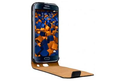mumbi PREMIUM Leder Flip Case Samsung Galaxy S6