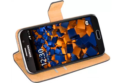 mumbi Tasche im Bookstyle für Samsung Galaxy S6
