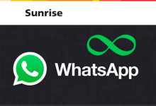 Sunrise WhatsApp - unlim
